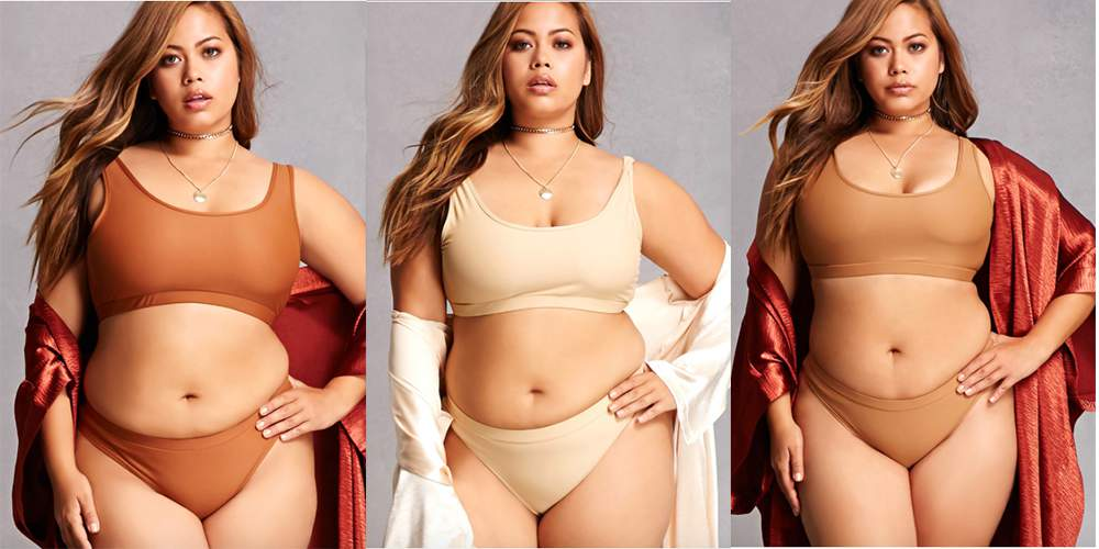 Cool News! Nünude is Available in Plus Sizes Exclusively at Forever 21