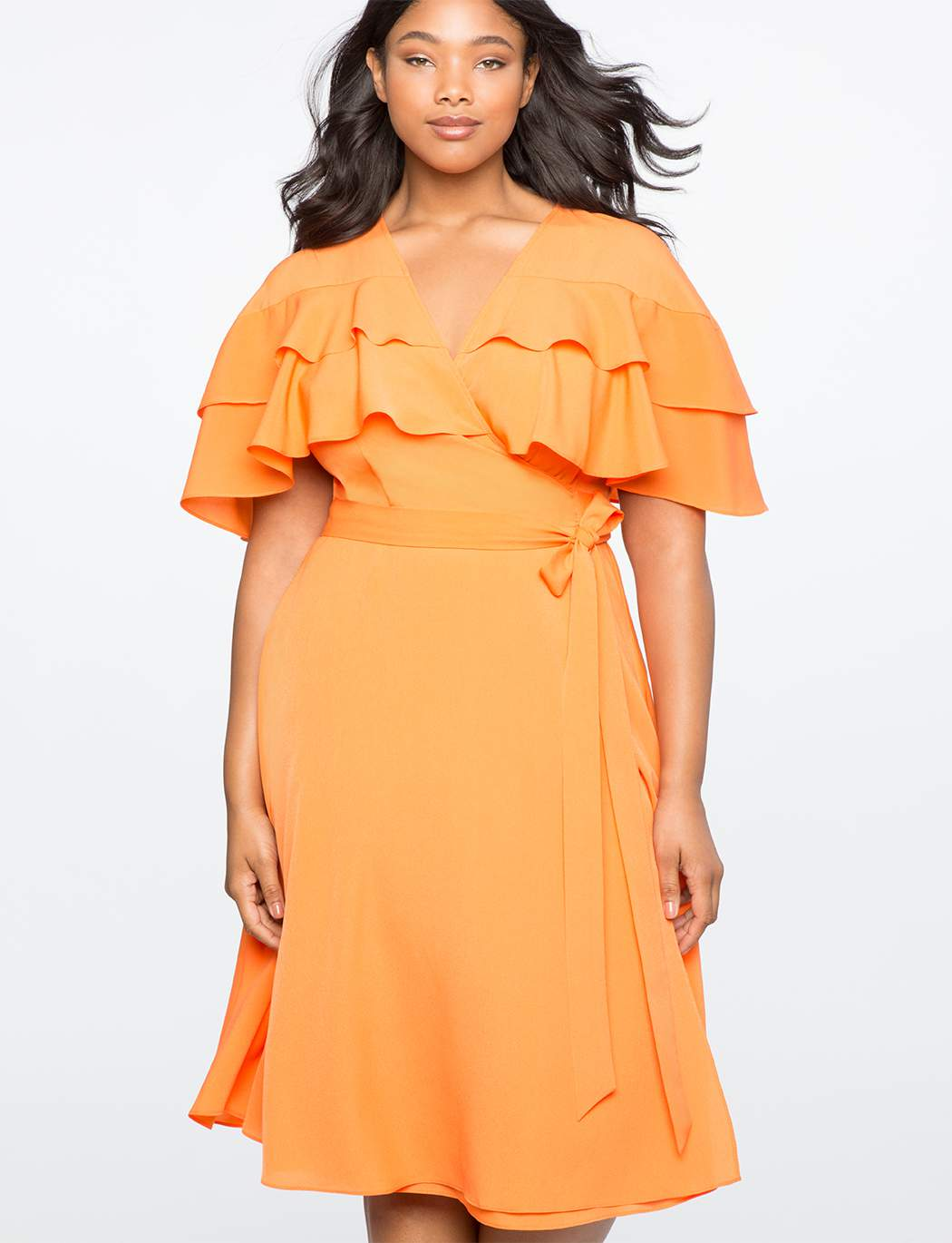 Accentuate Your Curves with These 7 Plus Size Wrap Dresses!