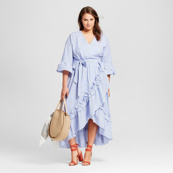 Plus Size Wrap Dresses for Summer