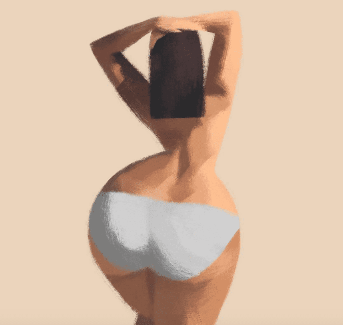 Plus Size Art: Check Out This Beautiful Body-Positive Art By Pierre Rütz!