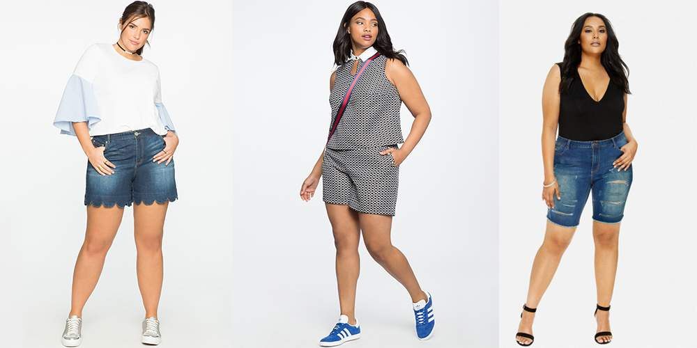 Show Your Legs In These 8 Must Have Plus Size Shorts