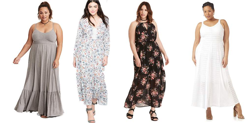 8b15b2ec215 Gotta Have It  10 Petite Plus Size Maxi Dresses   How to Rock Them!