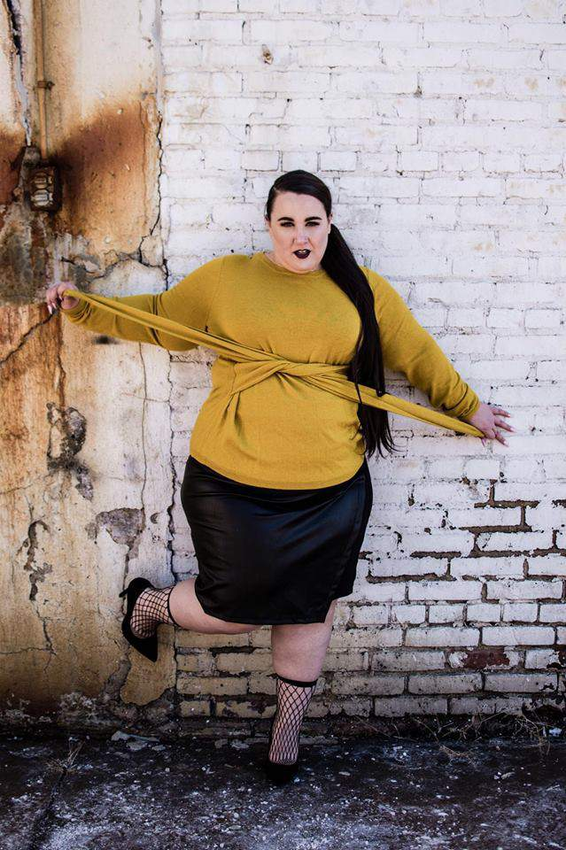 Blogger Alysse of Ready to Stare Stars in SLINK Magazine Editorial