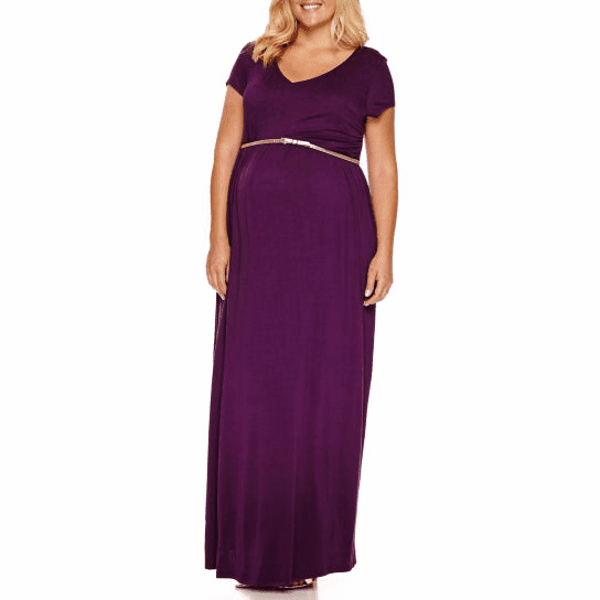 Whoa Baby! Did You Know JCPenney Has Plus Size Maternity?