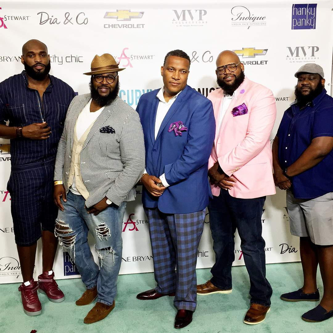 TCFStyle Roundup: The Big & Tall Men at the TCFStyle Expo!