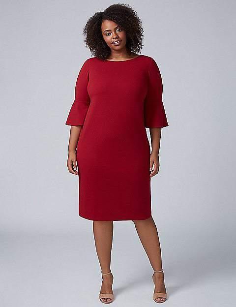 Lane Bryant Bell Sleeve Dress