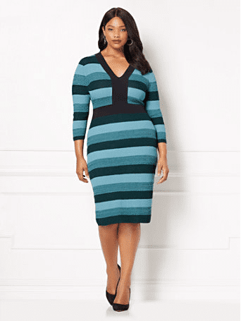 New York & Company X Eva Mendes Collection, plus size fashion, plus size collection, plus sizes, plus size tops, plus size dress
