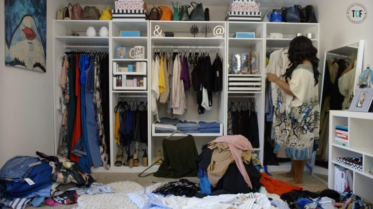 Are You Cluttered? Here's How to Get Your Closet Ready for Fall! [Video]