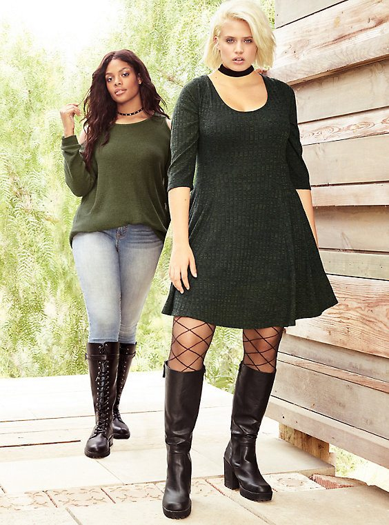 Layering plus size fall pieces