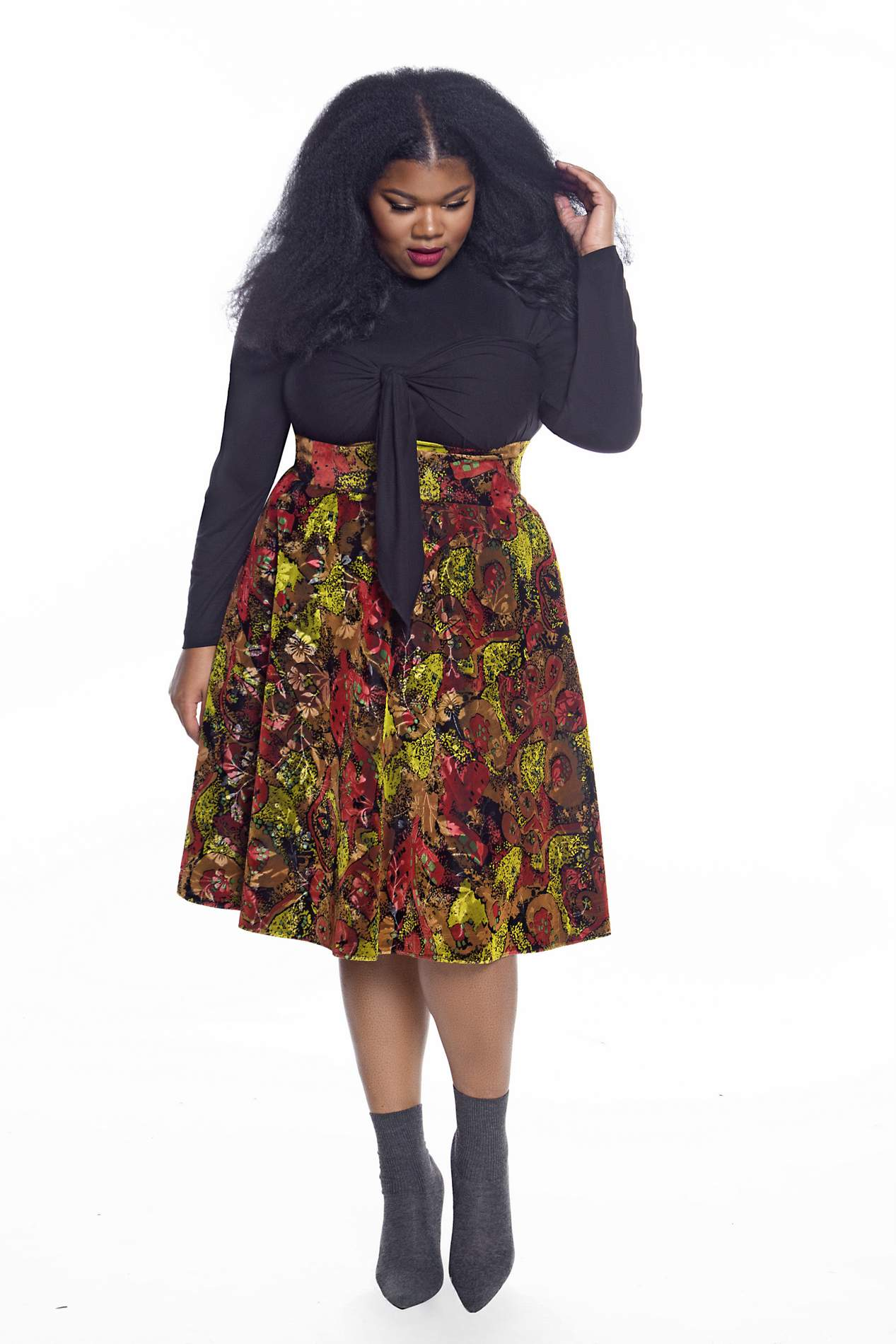Plus Size Designer Jibri Fall 2017