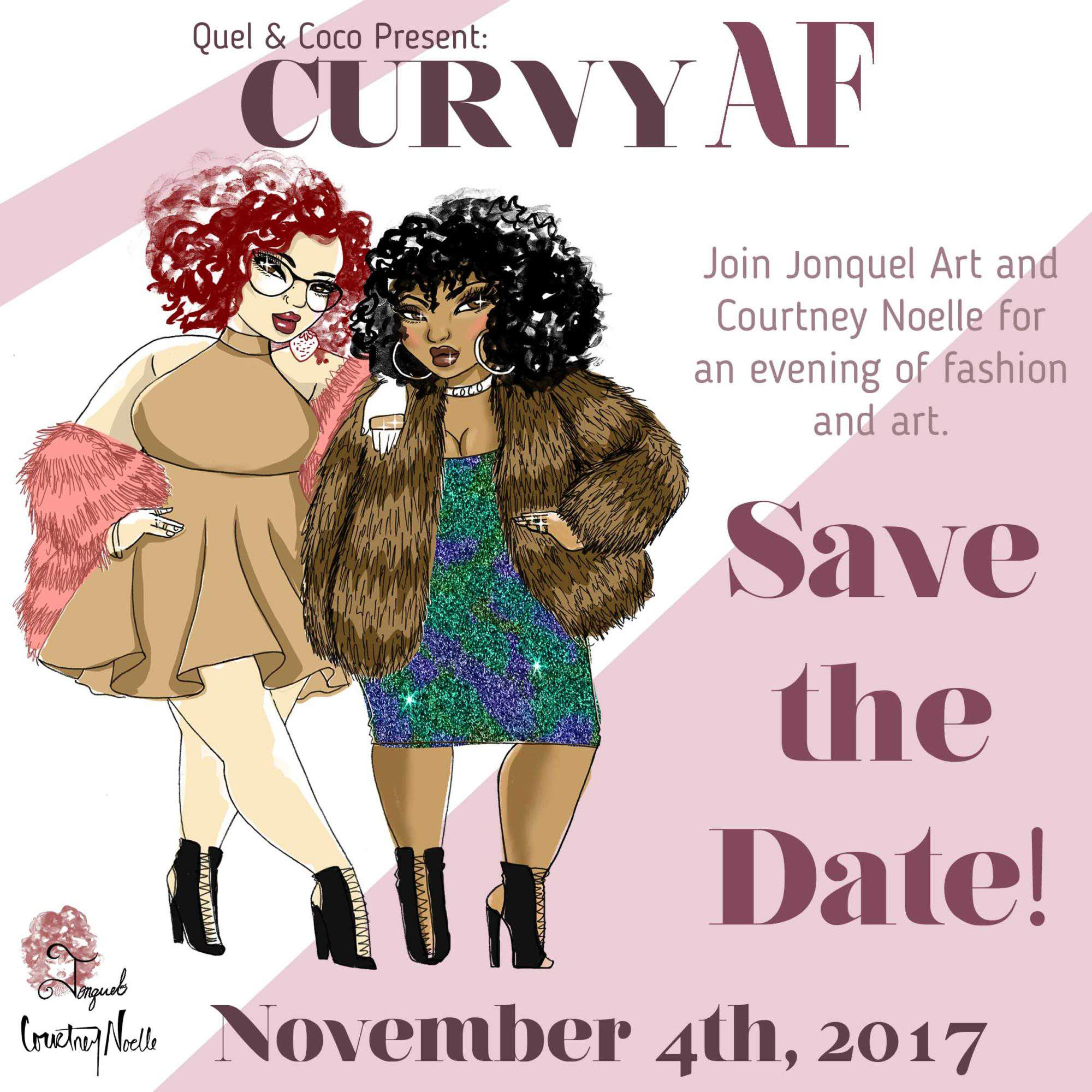 Plus size event, plus size fashion events, plus size event calendar, Courtney Noelle