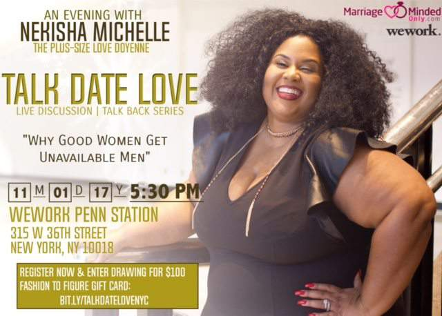 Talk Date Love: Plus Size Dating Event