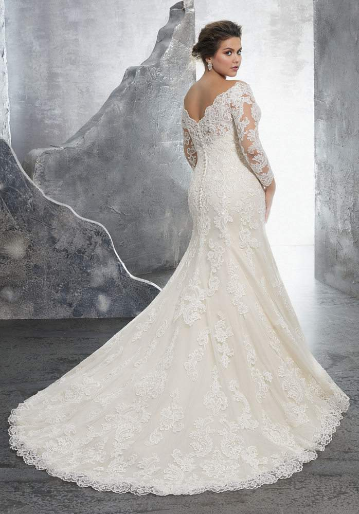 Down the Aisle in Plus Size Style with Julietta by Morilee by ...