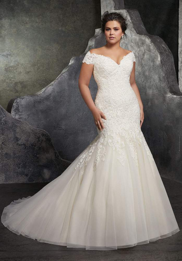 Bridal Plus Size Style with Julietta by Morilee by Madeline Gardner