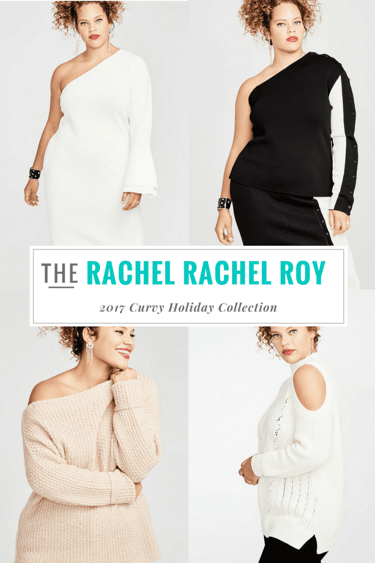 Rachel Roy has released their plus size pieces for their holiday collection & they've got you bearing arms & shoulders! You can't miss these pieces!