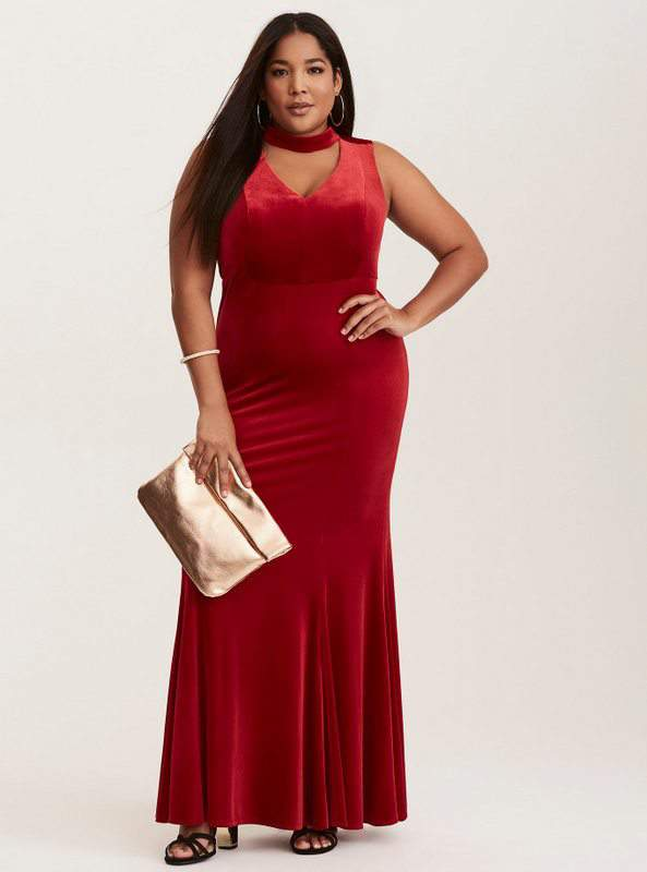 Plus size ten way dress design