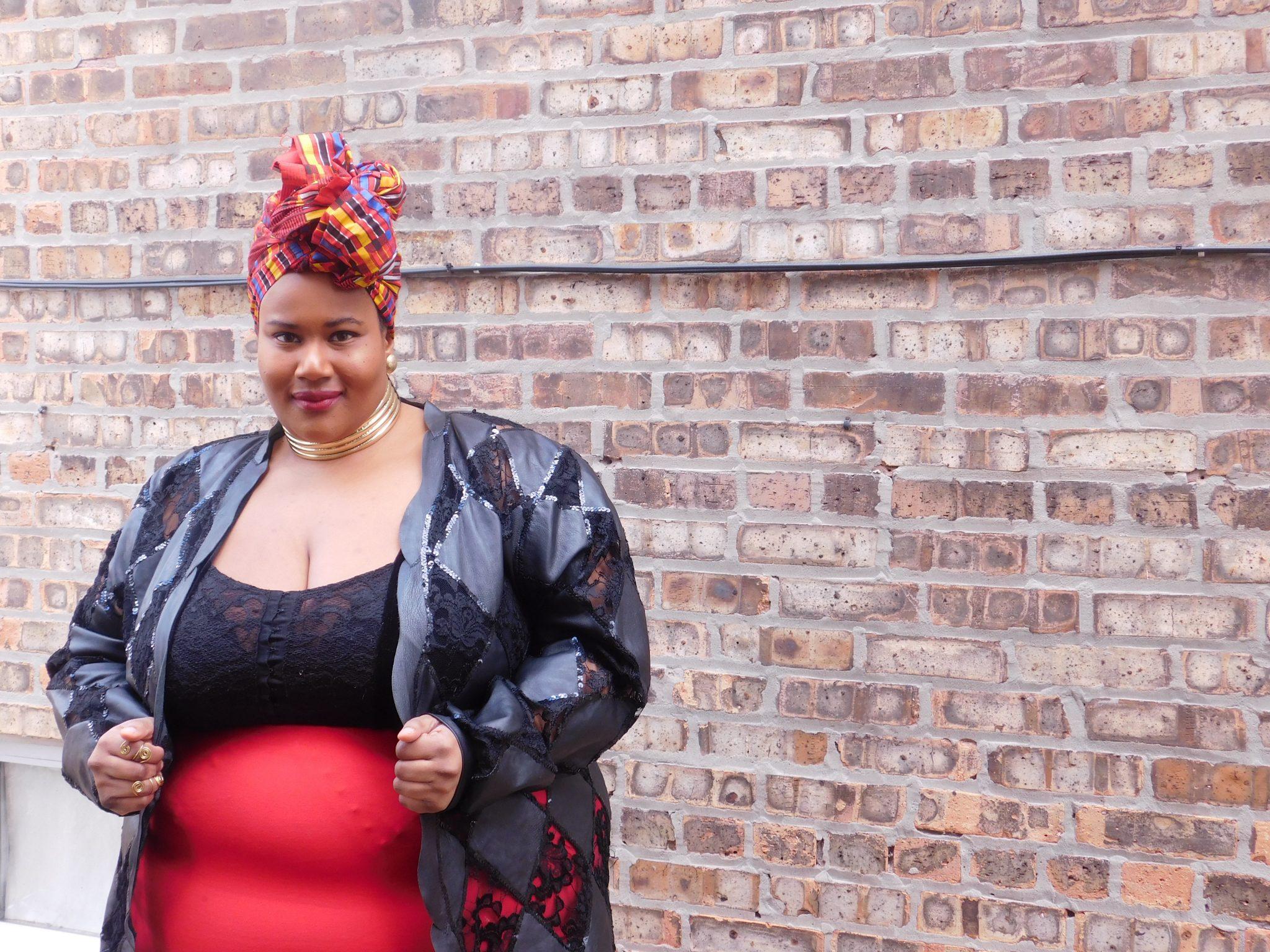 My curves my journey - blogger Nadia of Full Style Inc