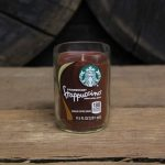 Upcycled Starbucks Candle