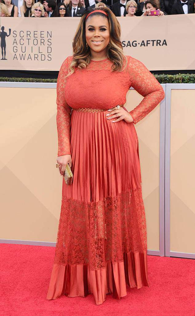 Nina Parker at the 2018 SAG Awards