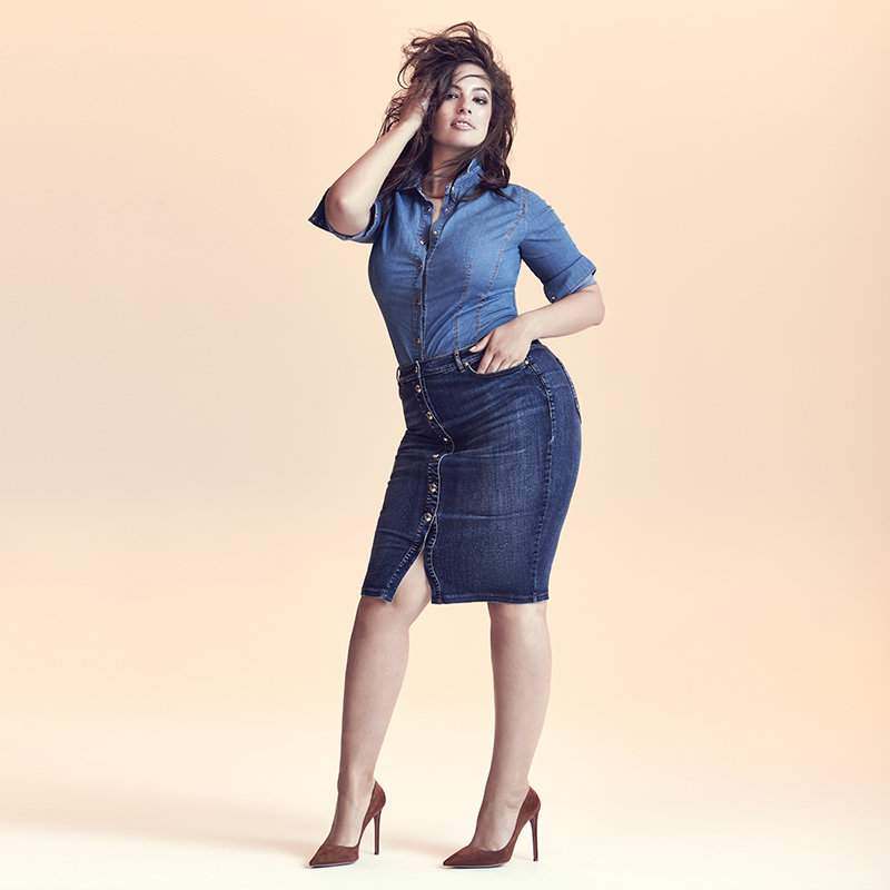 Ashley Graham for Marina Rinaldi Denim Collection
