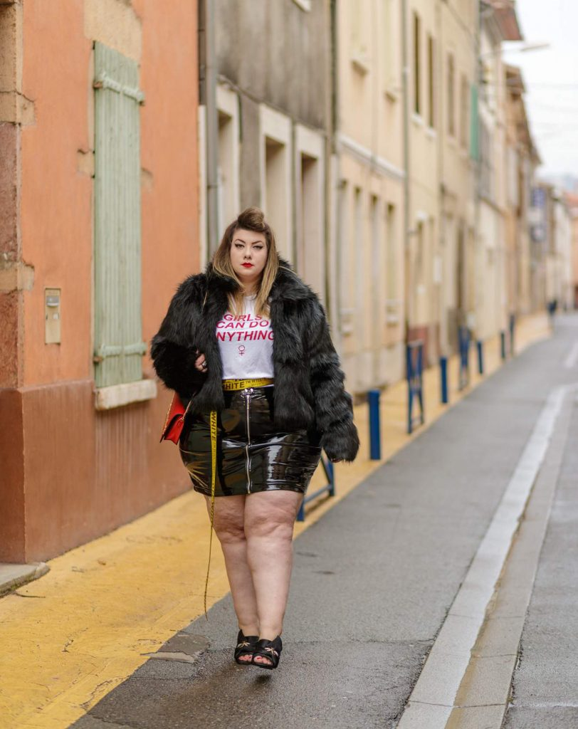 French Plus Size Blogger Virginie of Freaky Useless