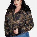 Plus Size Bomber Jacket by Ashley Stewart