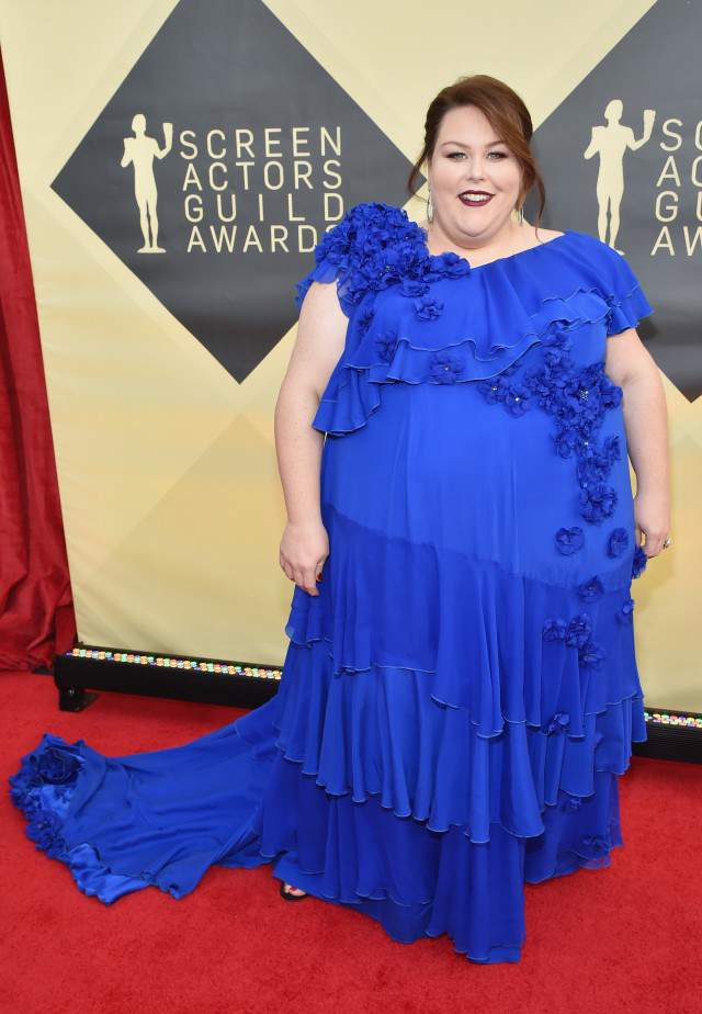 Chrissy Metz at the 2018 SAG Awards