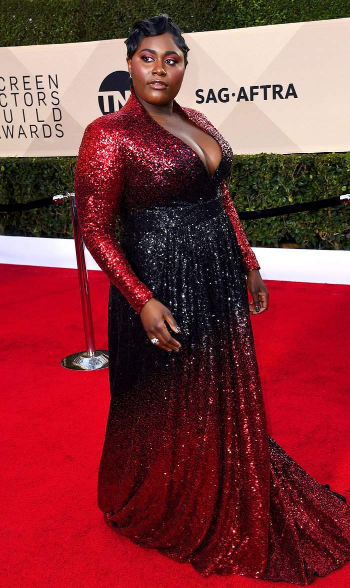 Danielle Brooks at the 2018 SAG Awards