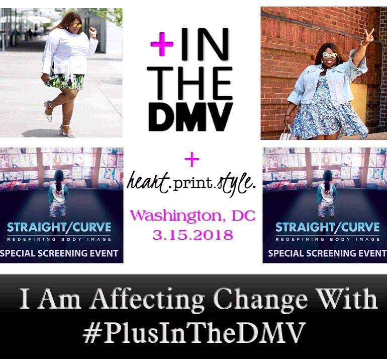Straight/Curve redefining body image presents by @plusintheDMV