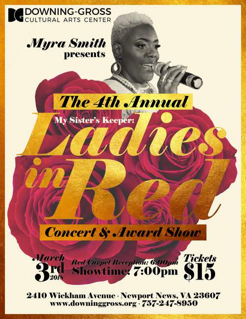 The 4th Annual Ladies In Red Concert & Award Show 7pm
