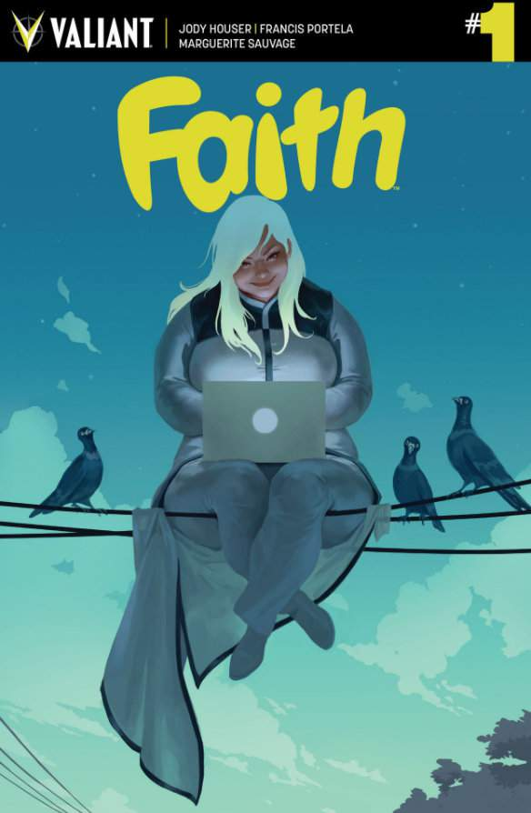 Faith Comic Series by Jody Houser