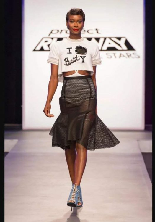 Joshua McKinley's Winning Design on Project Runway All Stars