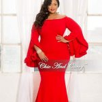 Valentine's Day Plus Size Red Dresses