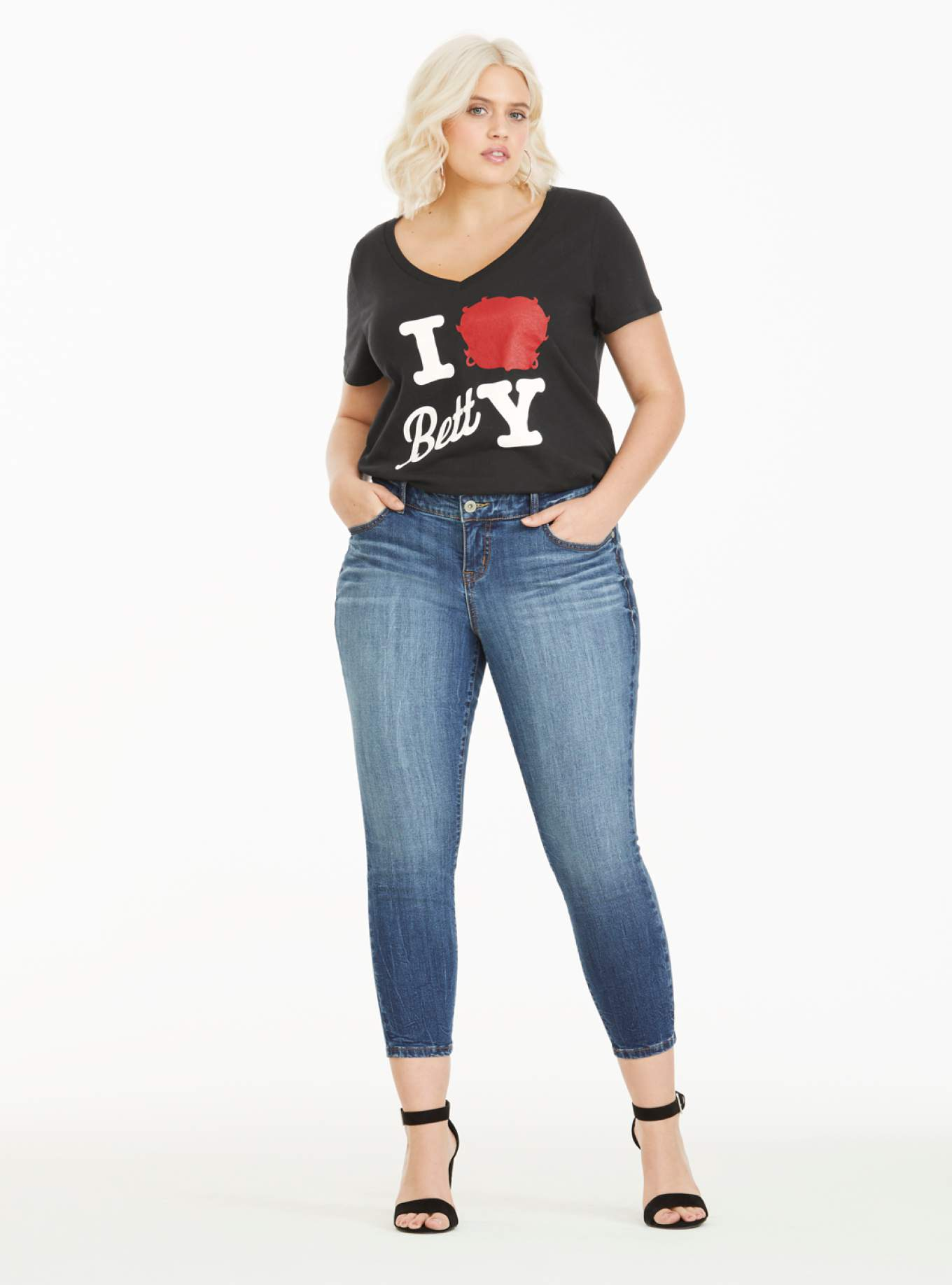 Torrid x Betty Boop X Project Runway Collection