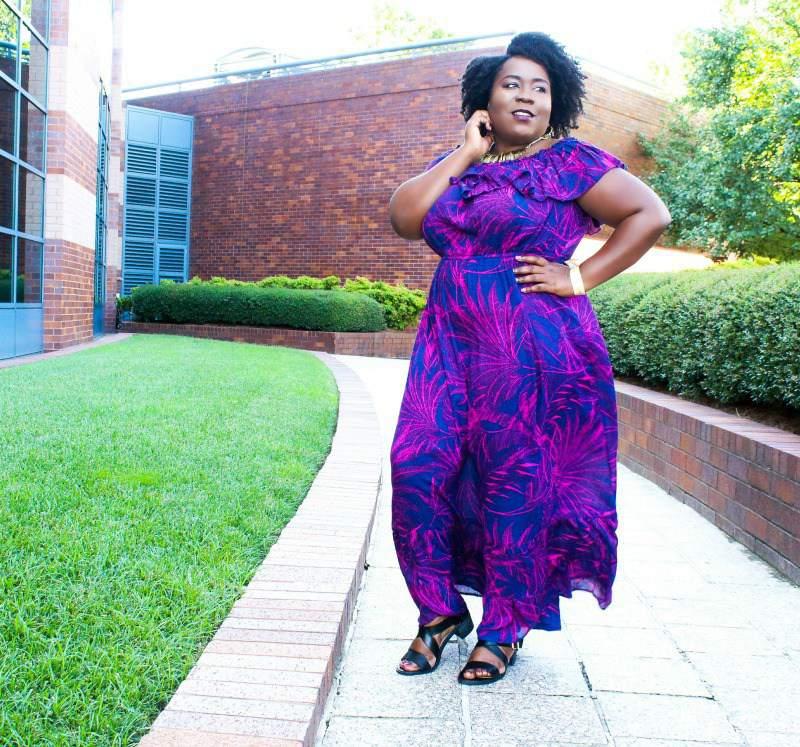 Plus Size Blogger, Shamika of Fro plus Fashion