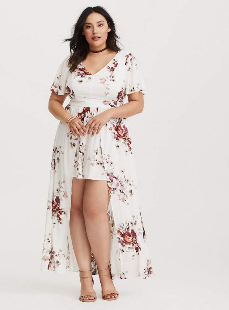 Plus Size Petite Maxi Dress – Fashion dresses