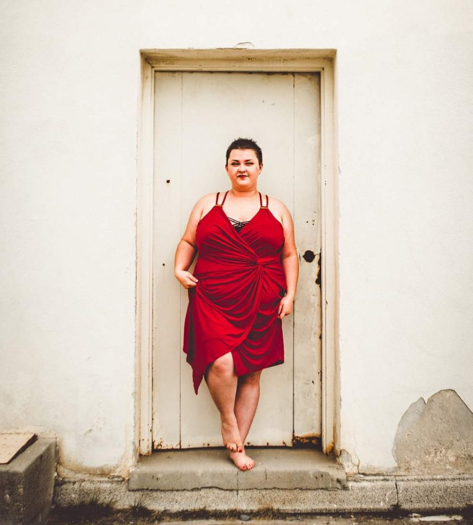 Plus size blogger- Brianne of the Huntswoman