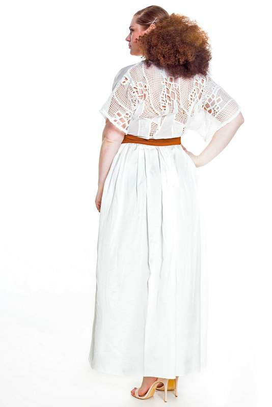 Plus size designer spring collection by Jibri