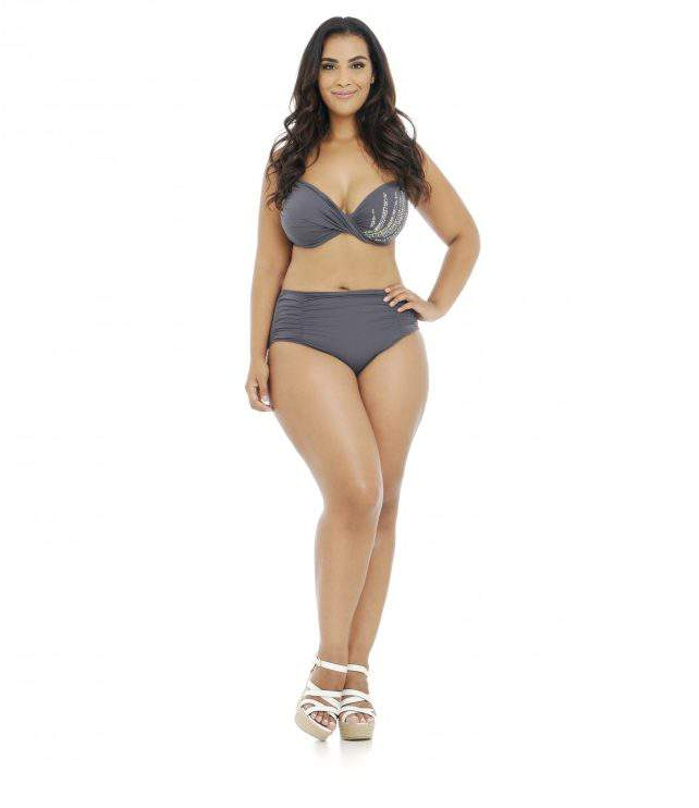 Plus size swimwear- voluptuous swimsuits