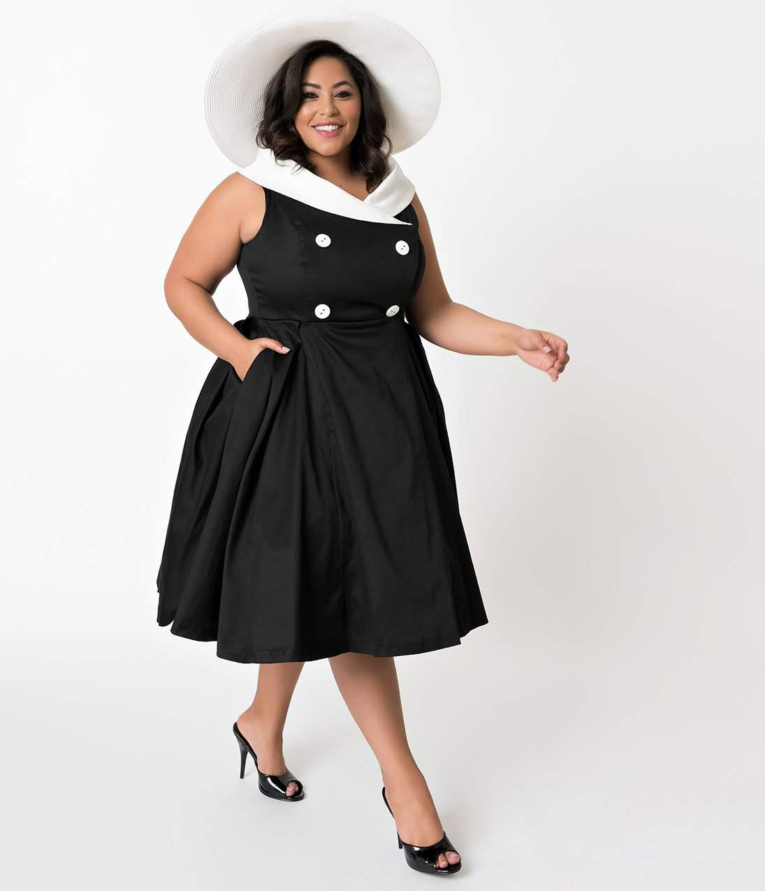 Shop the Unique Vintage x Barbie Collection in Plus Sizes