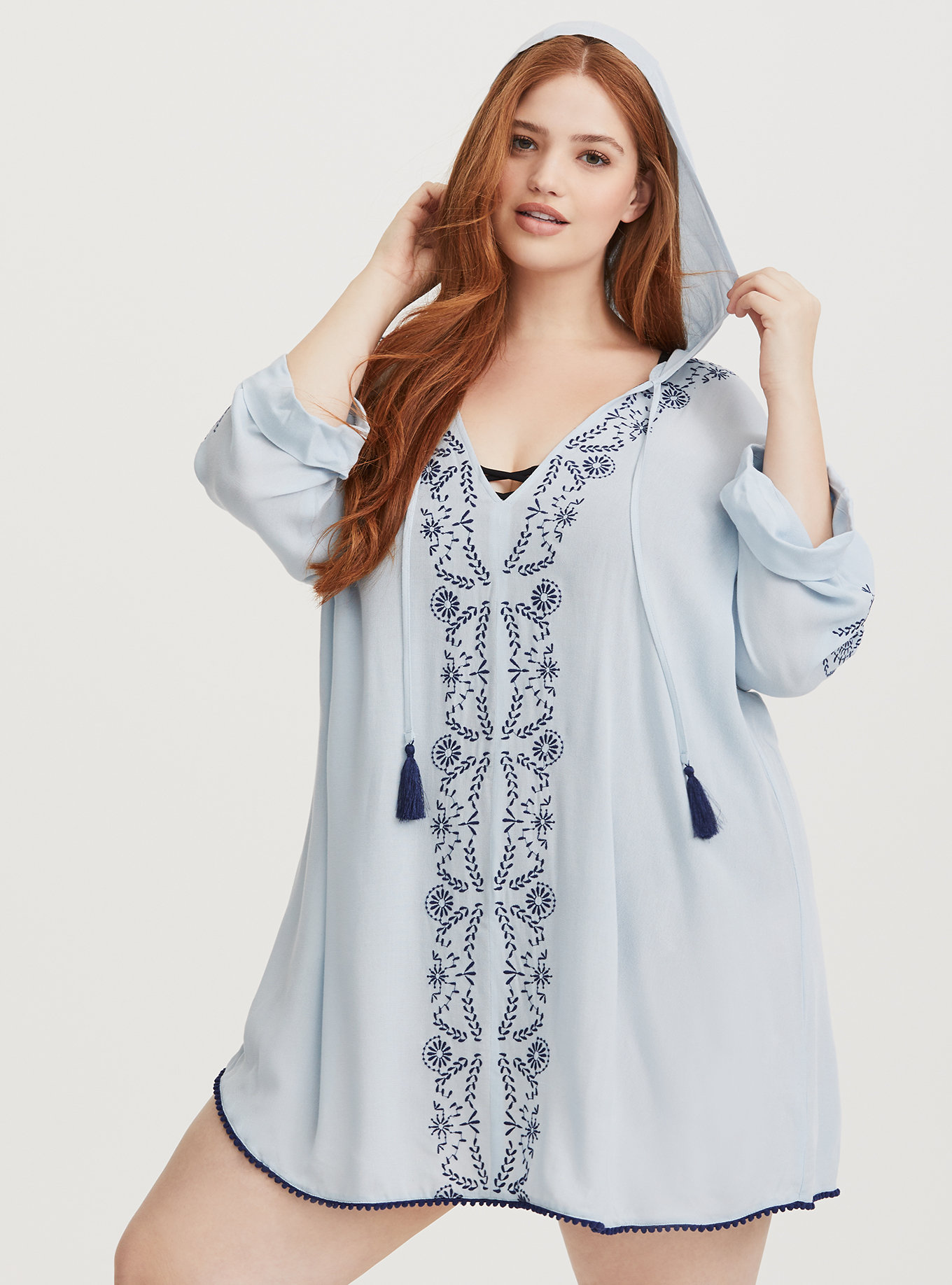 Hittin\' the Beach? Grab These Must Have Plus Size Swim Cover Ups!