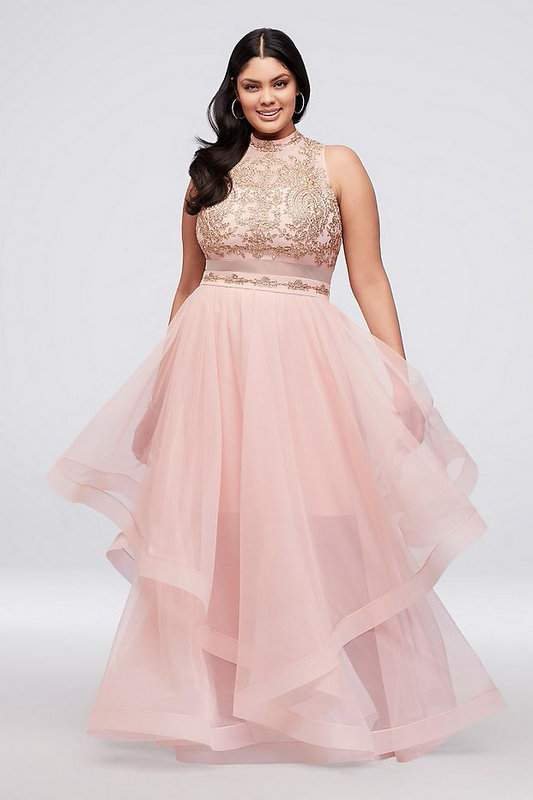 Weve Found 25 Fly Plus Size Prom Dresses