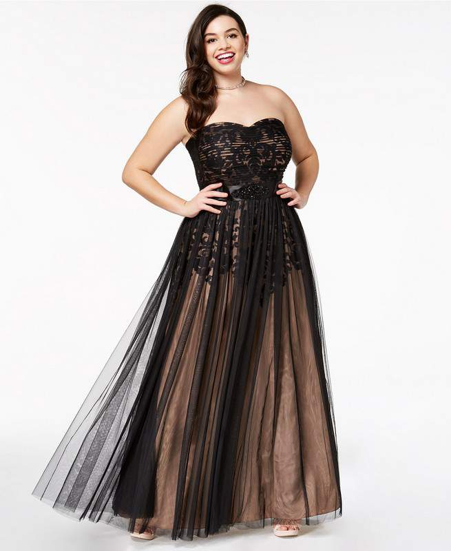 We\'ve Found 25 Fly Plus Size Prom Dresses