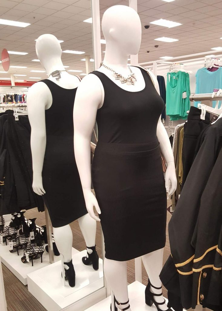 Target Plus Size In Store Options to Double by end of 2018