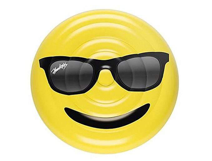 Plus Size Friendly Pool Floaties- Emoji Pool Float