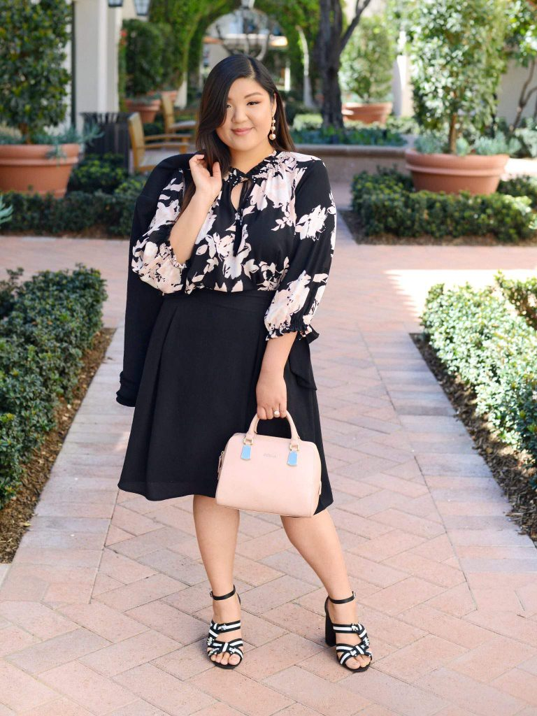 Curvy Girl Chic in Karl Lagerfeld Paris x Stitch Fix