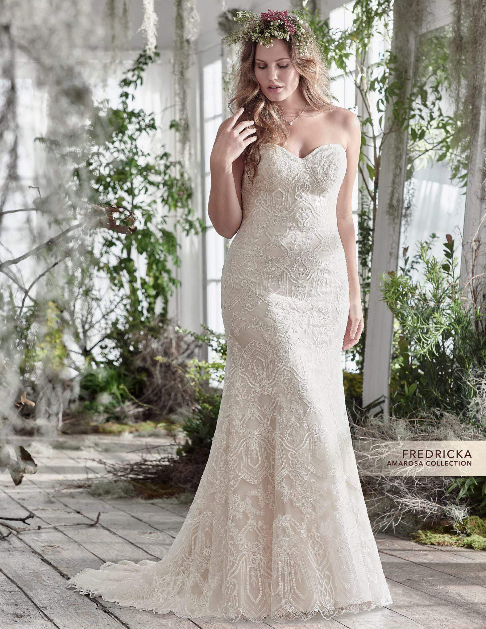 a7cc1e4e179 For the Plus Size Bride  First look at the Maggie Sottero Curve ...