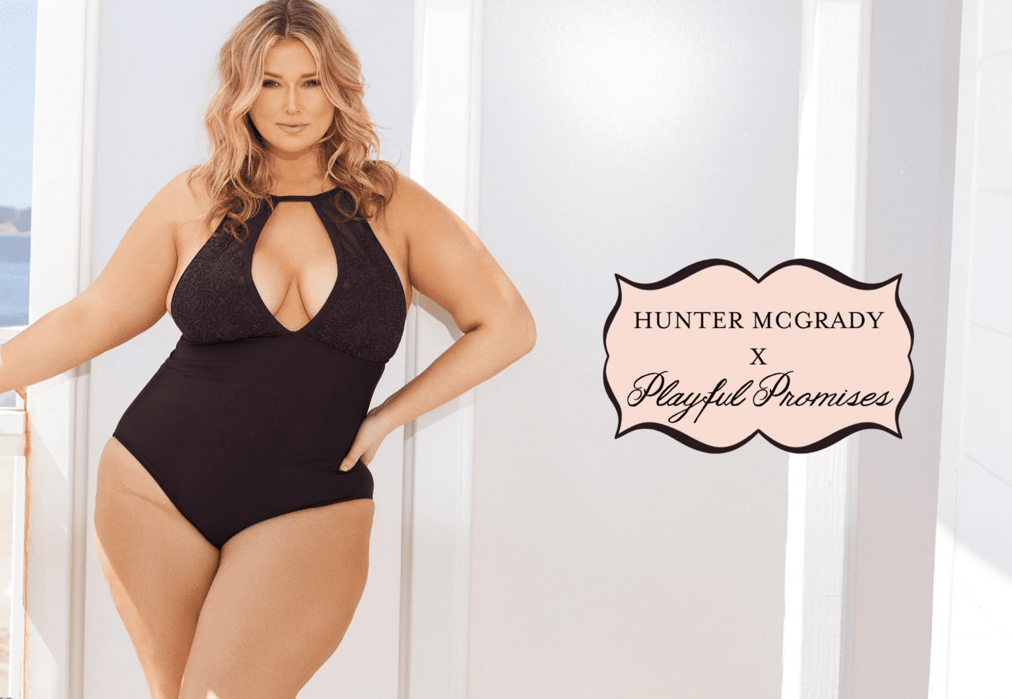 Hunter McGrady x Playful Promises Campaign