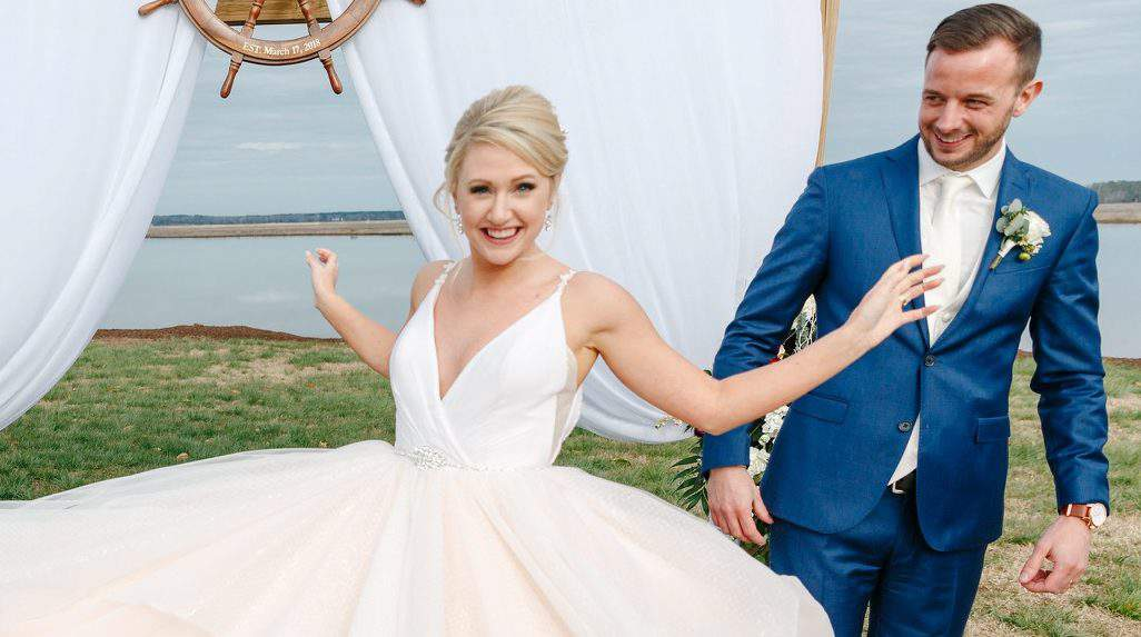 Introducing a new way to do wedding dresses with anomalie for Anomalie wedding dress