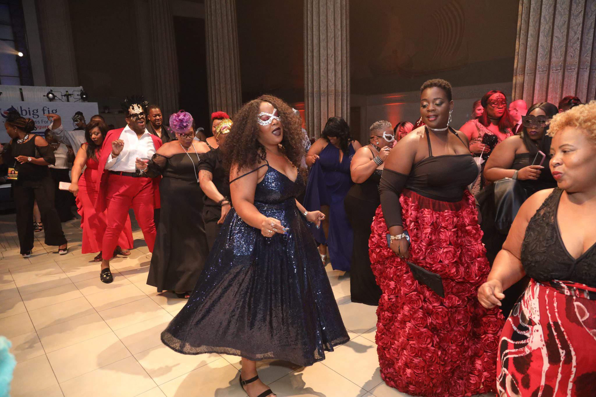 The Masquerade Ball at Full Figured Fashion Week